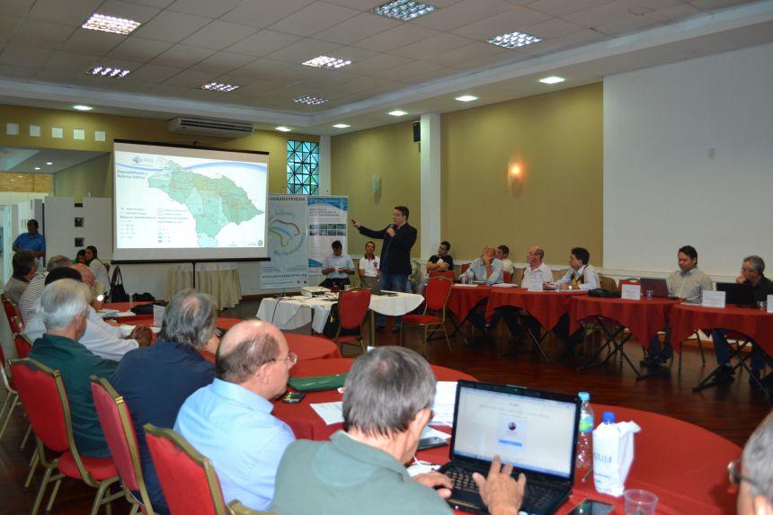 Comitê aprova plano para a bacia hidrográfica do Rio Paranapanema