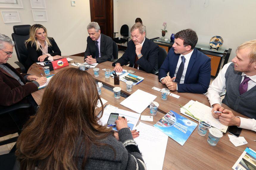 Empresa russa quer instalar centros de irradiação no Paraná