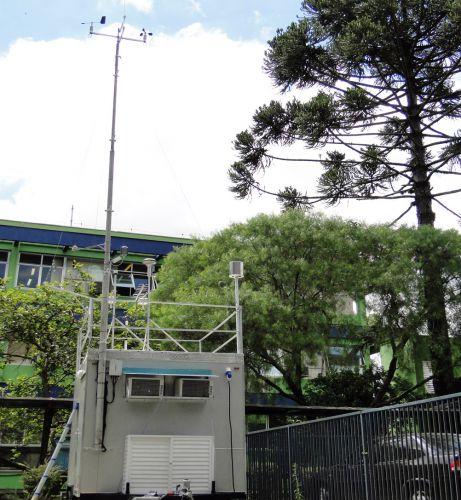 Paraná recebe mais uma estação móvel de monitoramento da qualidade do ar