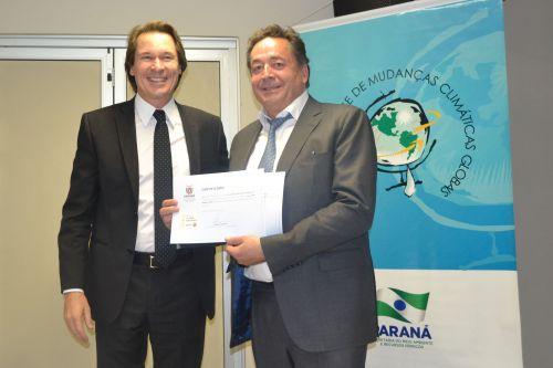 Selo Clima Paraná é entregue a mais 11 empresas do Estado