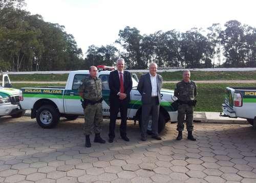 Polícia Ambiental recebe viaturas da Copel