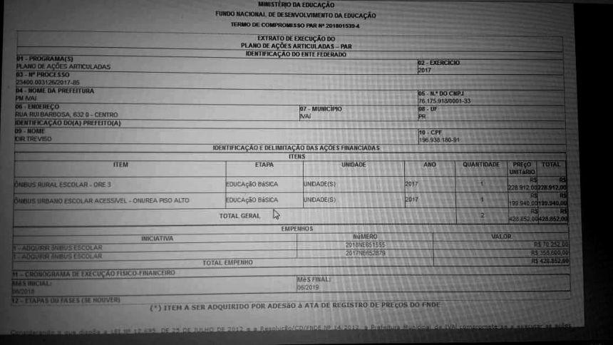 EDUCAÇÃO RECEBE MAIS VERBA R$ 428.852,00