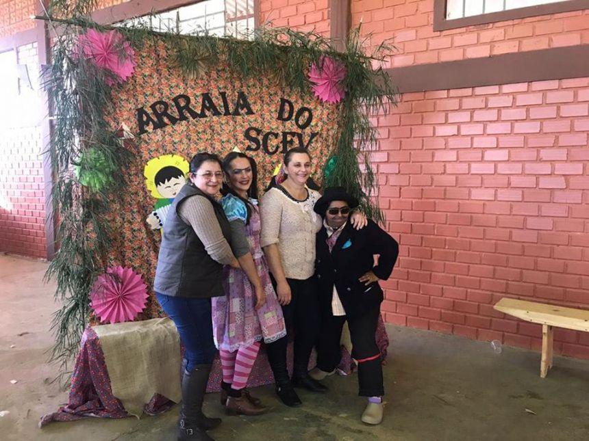 Festa Julina do Serviço de Convivência e Fortalecimento de Vínculos - SCFV,