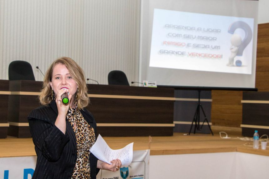 Prefeitura promove palestra para Servidores