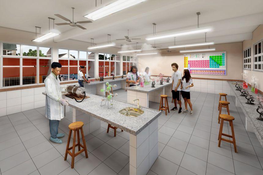 Projeto Espaço Educativo - 12 salas