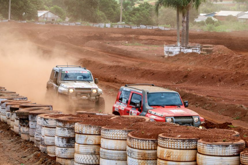 Ivaí sedia evento do TRANS PARANÁ - JEEP CLUB