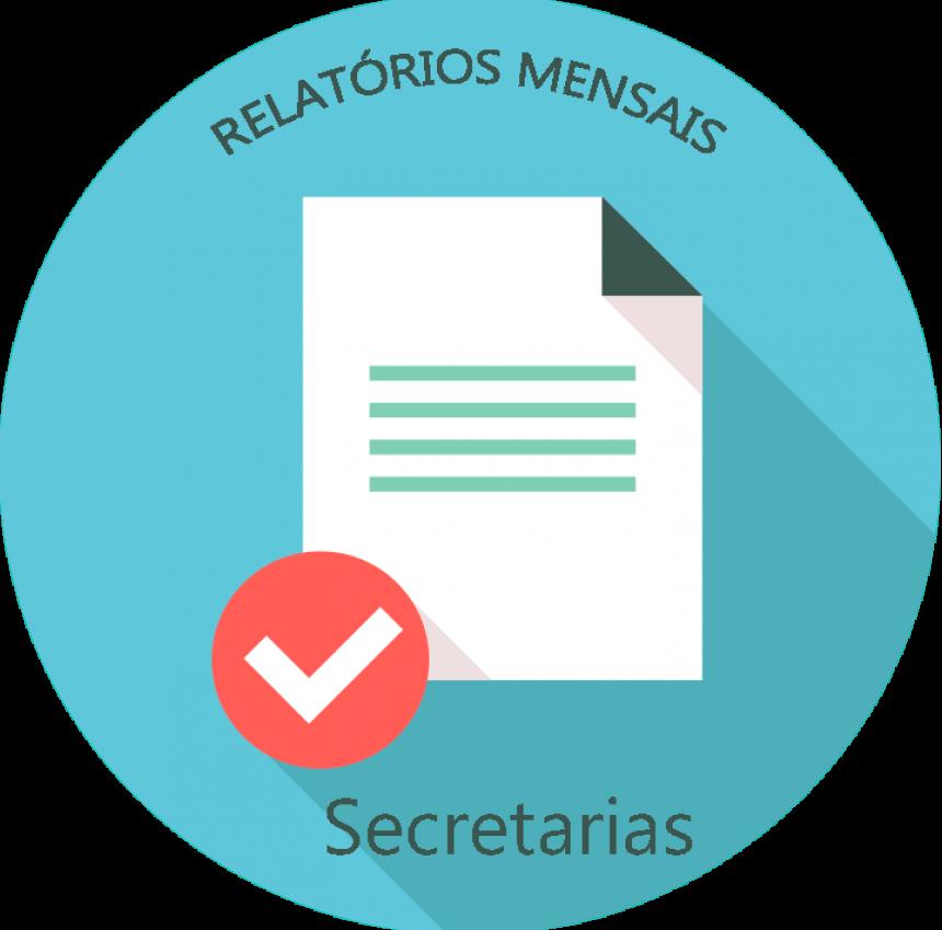 RELATÓRIO MENSAL DA SECRETARIA DE OBRAS - FEVEREIRO, MARÇO E ABRIL