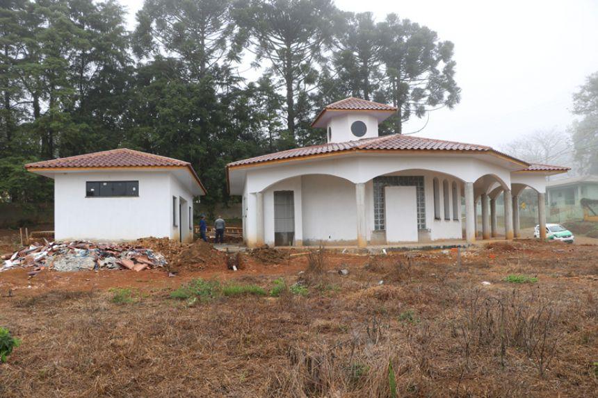 Construção da Capela Mortuária | São Roque