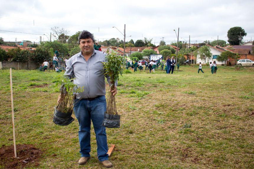 Arborização da Praça das Flores