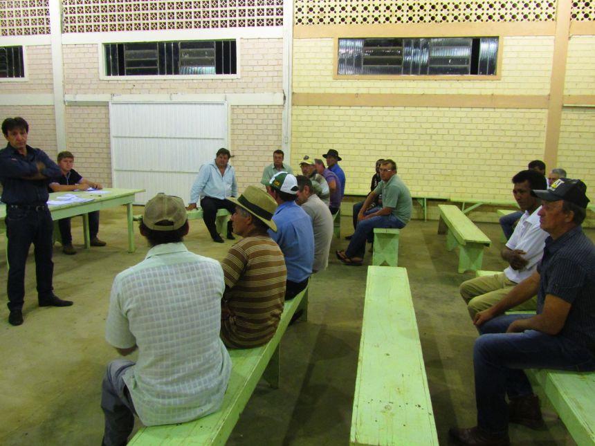 Prefeitura realizou reuniões com as diretorias das Associações de Produtores Rurais