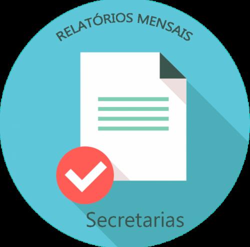 RELATÓRIO MENSAL DA SECRETARIA DE SAÚDE - JULHO