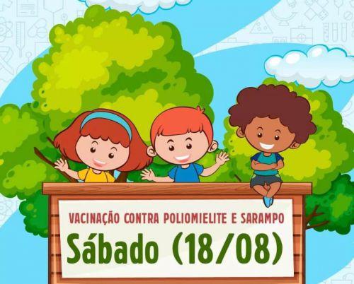 Campanha Nacional de Vacinação Contra Poliomielite e Sarampo