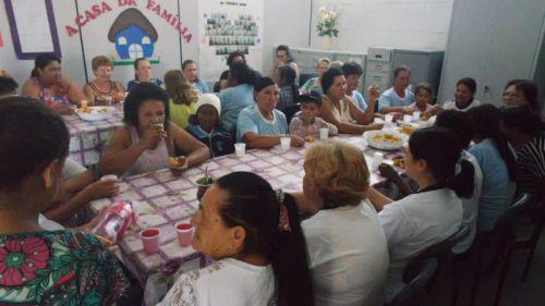 Confraternização do Grupo de Idosos do CRAS