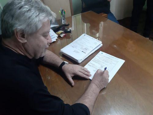 Assinatura do Alvará de Construção | Coopagricola