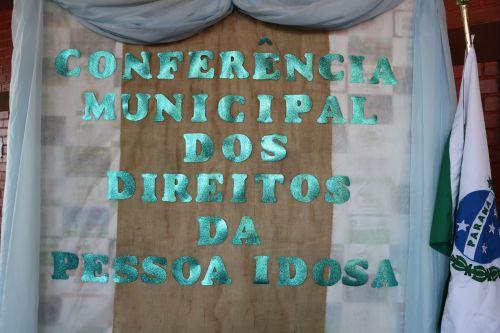 1ª CONFERÊNCIA MUNICIPAL DOS DIREITOS DA PESSOA IDOSA