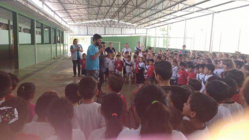 Secretaria de Saúde Promove Palestras nas Escolas