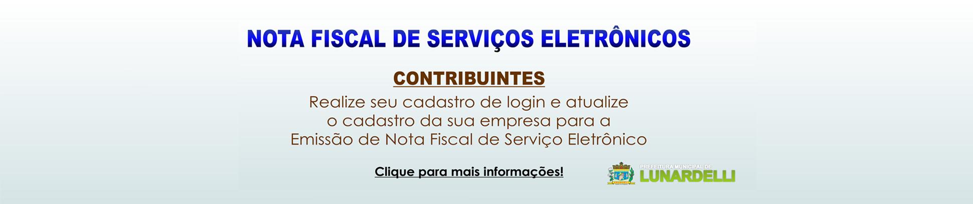 Nota Fiscal de Serviços Eletrônicos