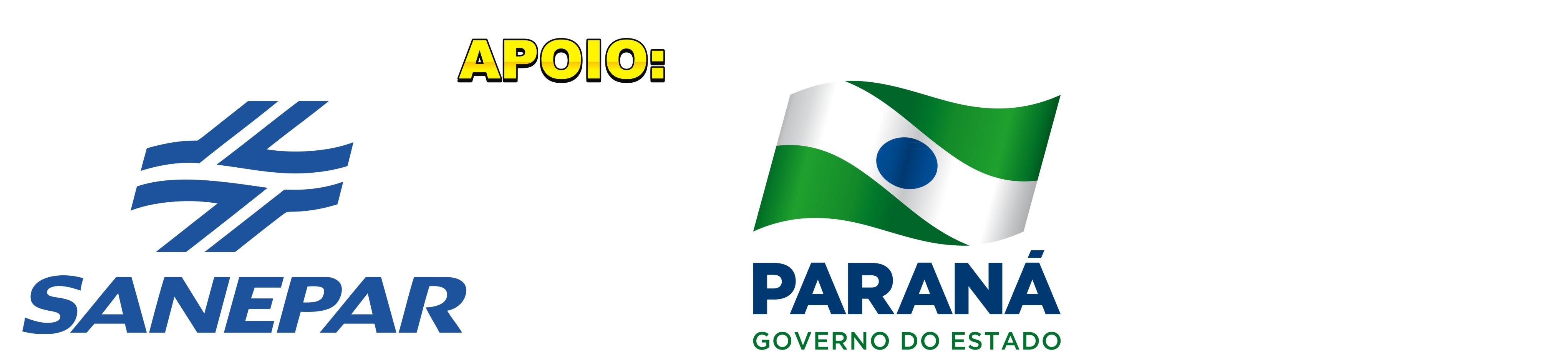 Apoio: Sanepar e Governo do Estado do Paraná