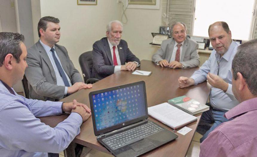 Reunião com o Presidente da Federação do Comércio do Estado do Paraná