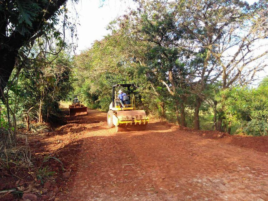 Prefeitura comunica que foi liberado o trecho da estrada do Primavera