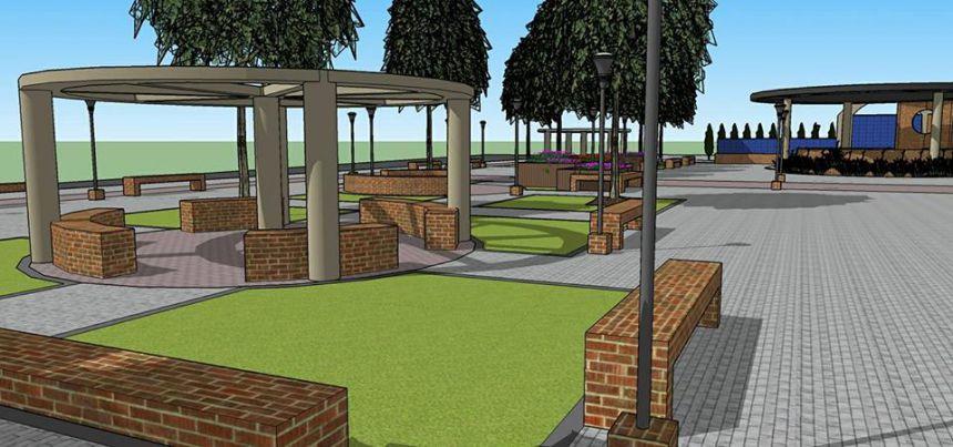 Projeto Arquitetônico da Revitalização da Praça