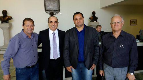 Audiência com o Secretário de Estado de Desenvolvimento Urbano Artagão Jr.