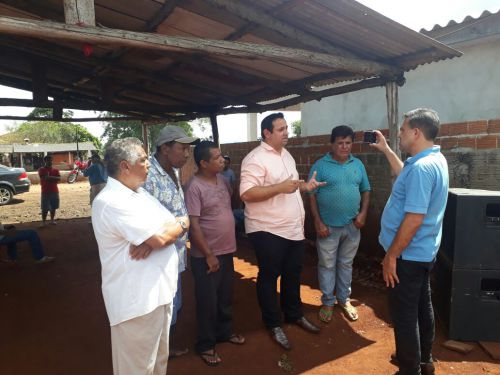 Implantação da rede de Água e Esgoto na Comunidade Nossa Senhora do Rocio