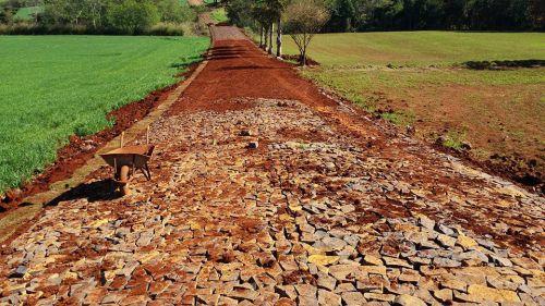 Pavimentação da Estrada do Primavera - Finalizando