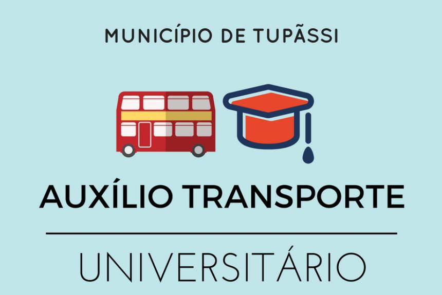 Abertas as inscrições para Programa de Auxílio Transporte para Estudantes