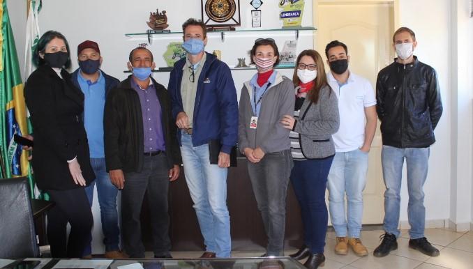 Prefeitura Recebe Visita de Representantes da Itaipu Binacional