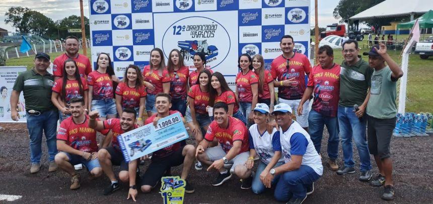 Porco Aranha/Vale Verde FM e Petão/Auto Elétrica/Nunka Breka campeões dos jericos em Tupãssi