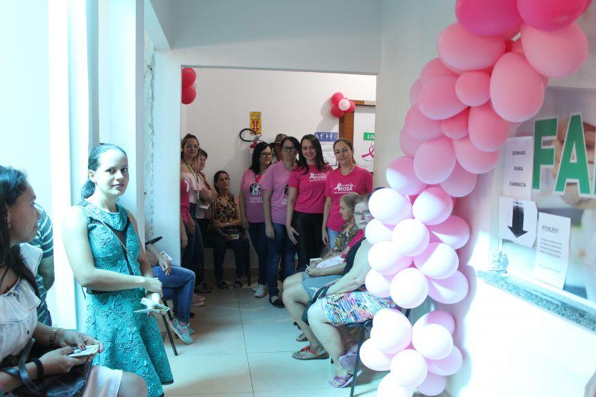 Secretaria de Saúde realiza ações do Outubro Rosa