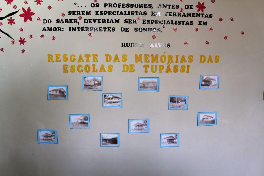 Projeto resgata memória das escolas antigas de Tupãssi