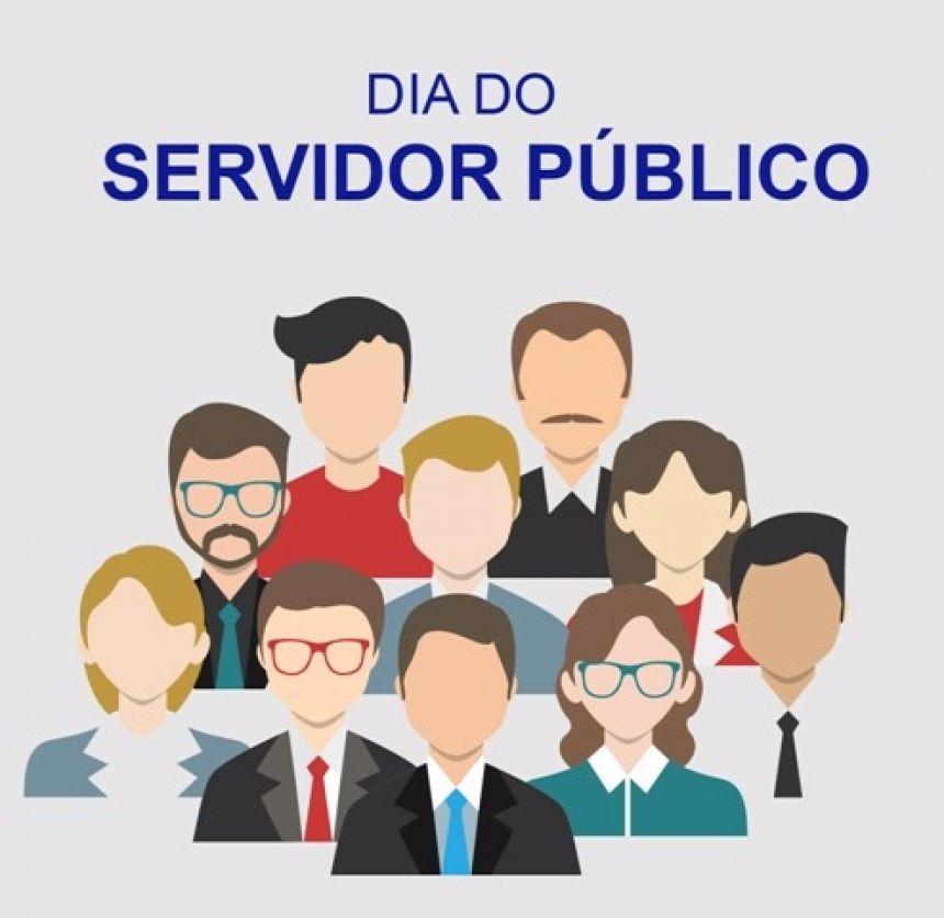 DIA DO SERVIDOR: Repartições públicas estarão fechadas, exceto escolas, CMEIS e Hospital