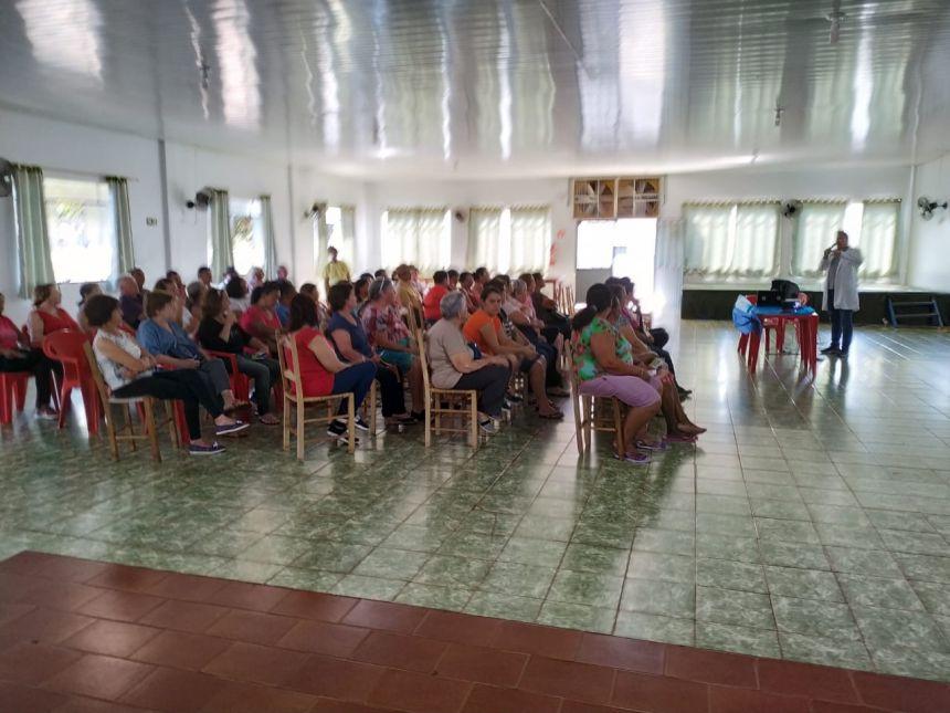 Secretaria de Saúde realiza encontro do Grupo Qualidade de Vida