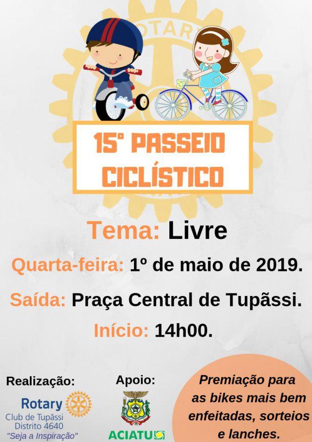 Passeio Ciclístico será realizado amanhã em Tupãssi