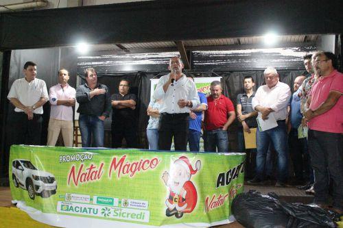 Associação Comercial deTupãssi realiza sorteio da promoção Natal Mágico