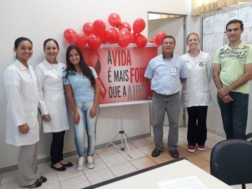 Dezembro Vermelho: Secretaria de Saúde inicia ações de conscientização sobre a AIDS