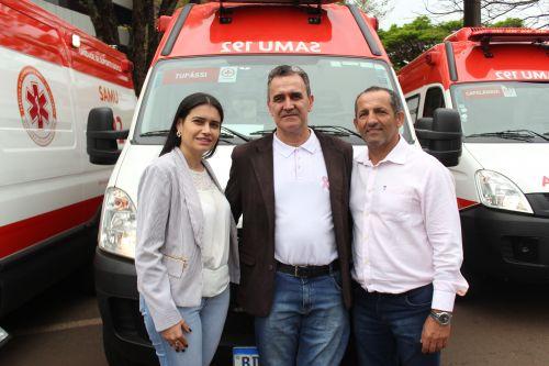 Consamu: Tupãssi é contemplado com uma ambulância para a nova base