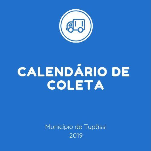 Tupãssi lança calendário anual para coleta de entulhos