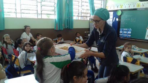 Escolas participam de edição da Jornada de Educação Alimentar e Nutricional