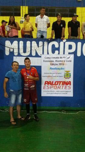 Equipes de Futsal disputam rodada do campeonato municipal