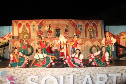 Espetáculo de Natal reúne centenas de pessoas em Tupãssi