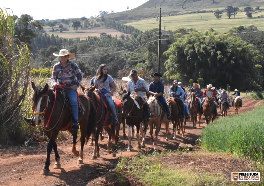 Rio Bom promove 3ª Cavalgada Cultural