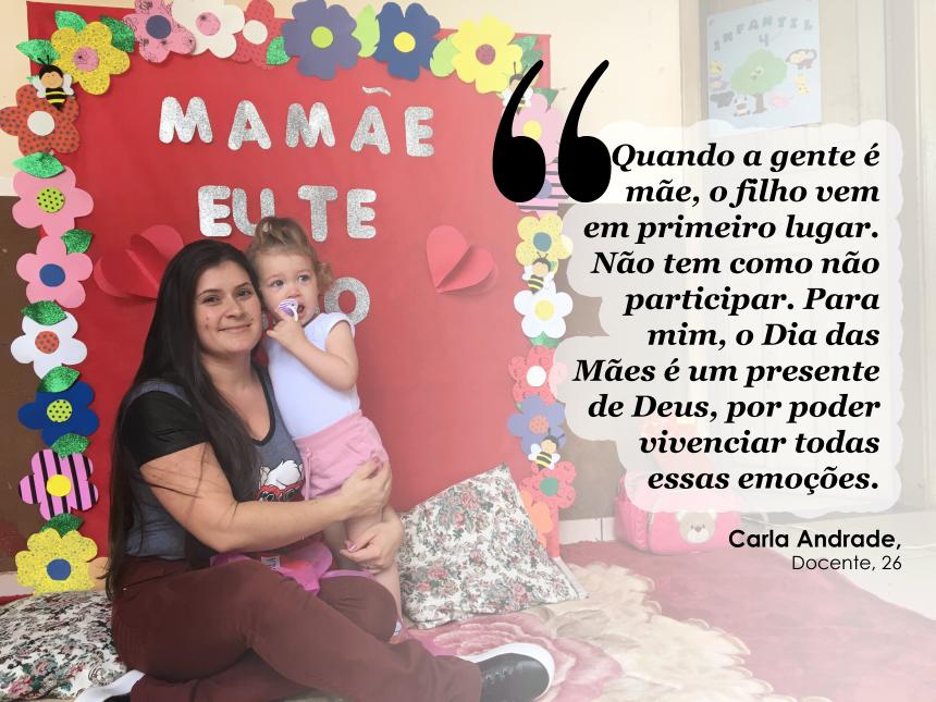 CMEI homenageia mães com almoço, apresentações artísticas e brindes