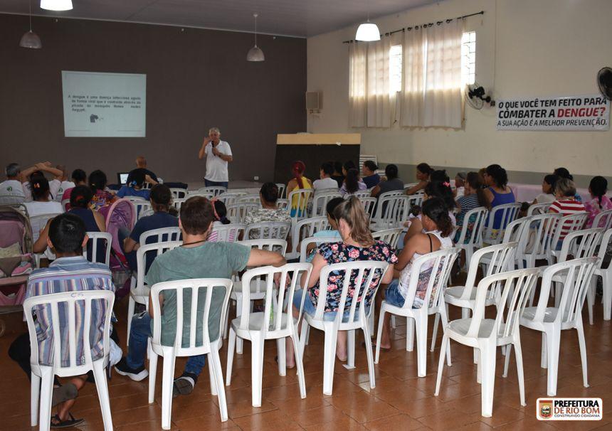 Claudemir Aparecido Tozzi promoveu palestra para mais de 50 pessoas