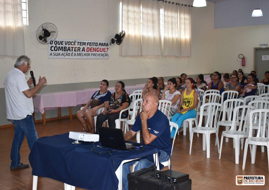 Município promove palestra sobre dengue