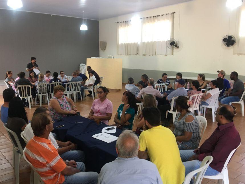Evento reuniu pessoas de várias representações da sociedade civil