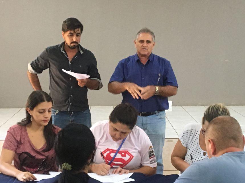 O chefe de gabinete, Evaristo Eduardo da Silva, representou o prefeito Ene Benedito Gonçalves (PDT), que não pode se fazer presente