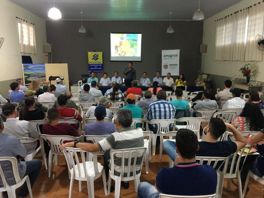 Evento de atividades agropecuárias reuniu mais de 100 pessoas